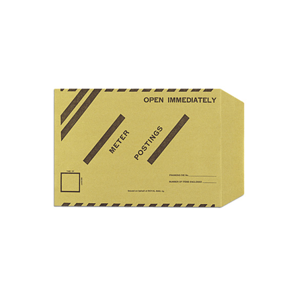 Late Mail Meter Envelopes 381mm x 254mm