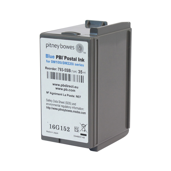 Original Ink Cartridge For Pitney Bowes DM100 DM200 Series