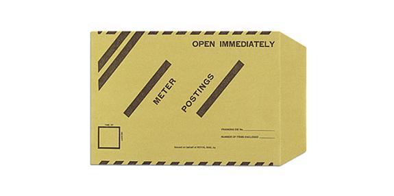 Meter Envelopes